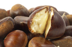 Some chestnuts Royalty Free Stock Photos