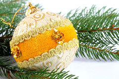 Some christmas balls Royalty Free Stock Images