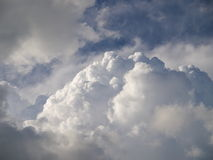 Some clouds. (background). Daytime, sky and some clouds Royalty Free Stock Image