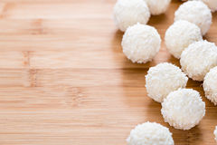 Some Coconut Pralines Royalty Free Stock Photography