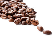 Some coffee beans Stock Image