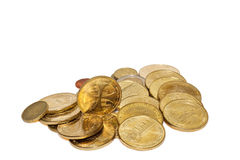 Some coins of Gold Royalty Free Stock Photos
