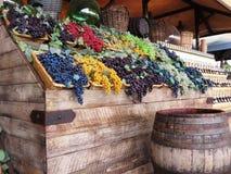 Some colored grape Stock Photo