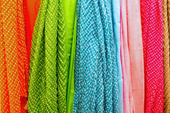 Colourful drapery Royalty Free Stock Image