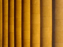 Some columns sidelit Royalty Free Stock Image