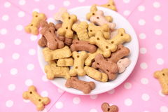 Cookies for Dogs. Some cookies for dogs made of meat and vegetables Stock Photography