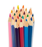 Some crayons Royalty Free Stock Image