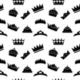 Some crowns background Royalty Free Stock Photography