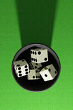 Some dices Royalty Free Stock Photos