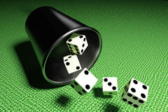 Some dices Royalty Free Stock Photography