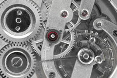 Some different gears and wheels Royalty Free Stock Photo