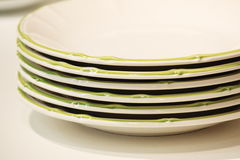 Some dishes Stock Photos