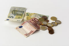 Some euro cash Stock Images
