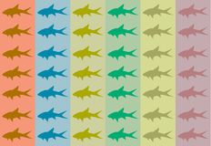 Fish background. Some examples of interesting fish backgrounds Stock Photo