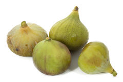 Some figs isolated on white background. Some figs isolated on a white background Stock Photography