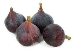 Some figs isolated on white background. Some figs isolated on a white background Stock Images