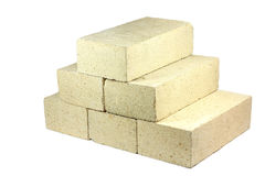 Some firebricks stock photography
