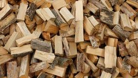 Some firewood in Kruchik, Ukraine. Some firewood in Kruchik near Bohodukhiv, Ukraine Royalty Free Stock Photography