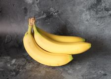 Some fresh bananas Stock Photos