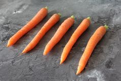 Some fresh carrot Royalty Free Stock Images