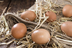 Some fresh Eggs Stock Images
