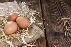 Some fresh Eggs Royalty Free Stock Image