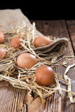 Some fresh Eggs Royalty Free Stock Images