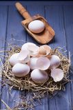 Some fresh eggs Royalty Free Stock Photography