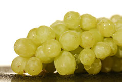 Some fresh grapes. Close to some fresh grapes royalty free stock photo