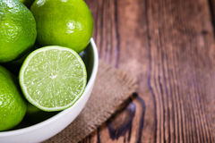 Some fresh Limes Royalty Free Stock Image