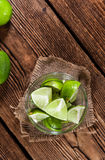 Some fresh Limes Royalty Free Stock Photos