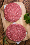 Some fresh made Burgers Royalty Free Stock Photos
