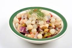 Some fresh organic herring salad Royalty Free Stock Image