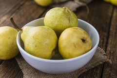 Some Fresh Pears Stock Photos