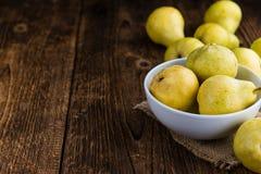 Some fresh Pears Stock Photos