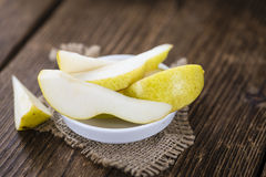 Some fresh Pears Royalty Free Stock Image