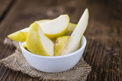 Some fresh Pears Royalty Free Stock Photo