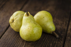 Some fresh Pears Stock Images