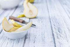 Some fresh Pears Royalty Free Stock Images