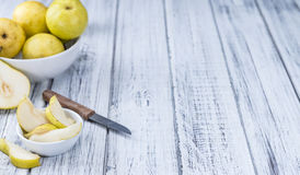 Some fresh Pears Stock Image
