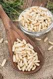 Some fresh Pine Nuts Stock Photos
