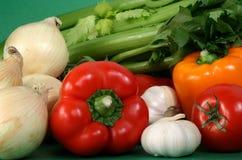 Some fresh vegetables Stock Image