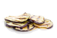 Some fried slices of eggplant Royalty Free Stock Photo