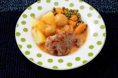 Grilled pork meat stock image