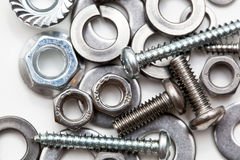 Some hardware macro Royalty Free Stock Photo
