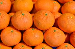 Sweet oranges. Some healthy fruits royalty free stock image