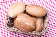 Buns of wheat flour Stock Image