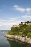 Some of houses of Amasra on hill, Amasra, Turkey Stock Image