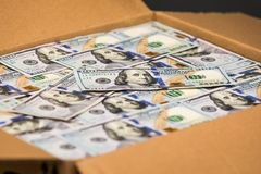 Package of Money Royalty Free Stock Photography