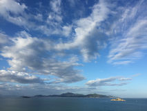 Some islands in Nha Trang, southern Vietnam Royalty Free Stock Photos